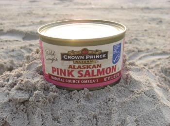 anti cancer salmon says: wild canned from Alaska