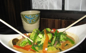 anti cancer Eat out Thai curry