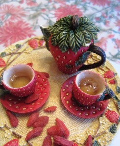 anti cancer recipes teas and berries