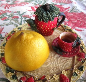 tea party with lemon winner
