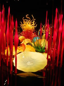Chihuly's glass garden of mushrooms and other delights 2