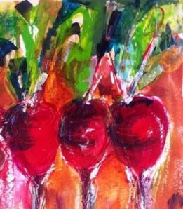 Radishes by Peggy Ann Turner edited