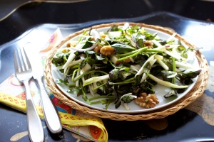 anti-cancer recipe for watercress salad