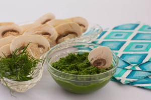 anti-cancer mushrooms and dill